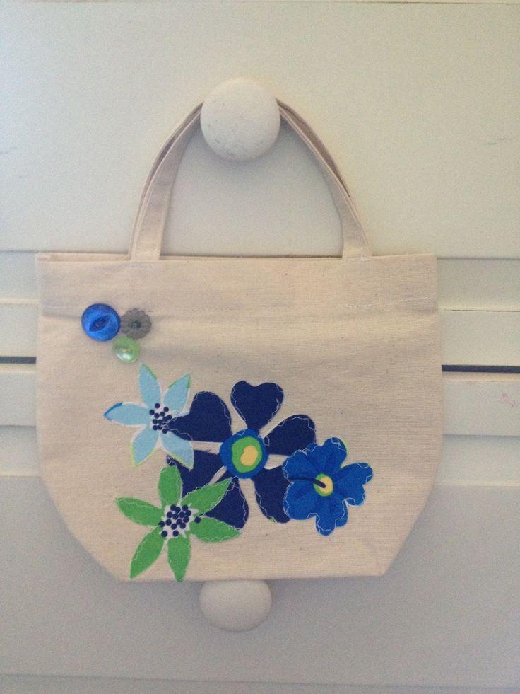 Handmade Kiddies Tote Bag £8.50 by Art with Flowers