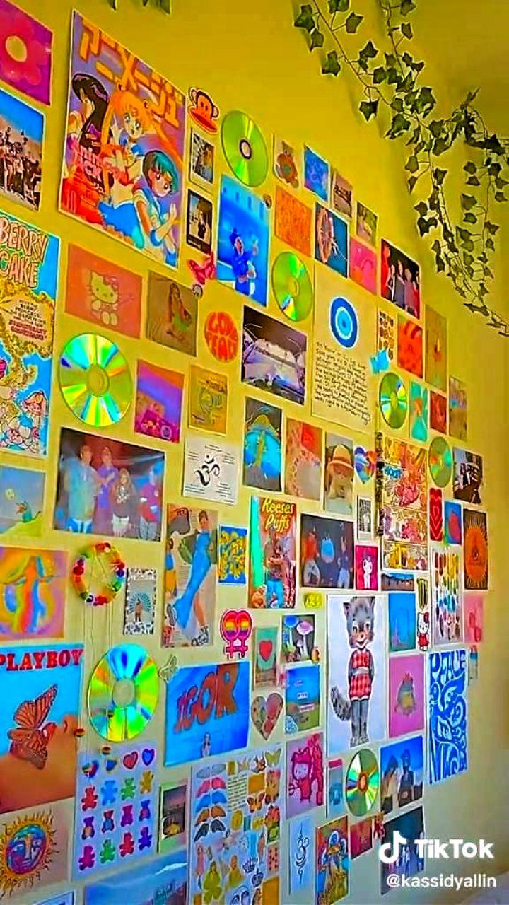 Aesthetic TikTok room ideas in 2020 | Grunge room, Indie ...