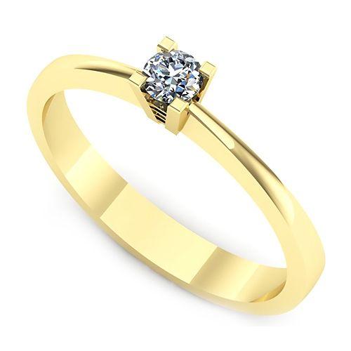 Inel logodna L27GDI Inel cu diamant