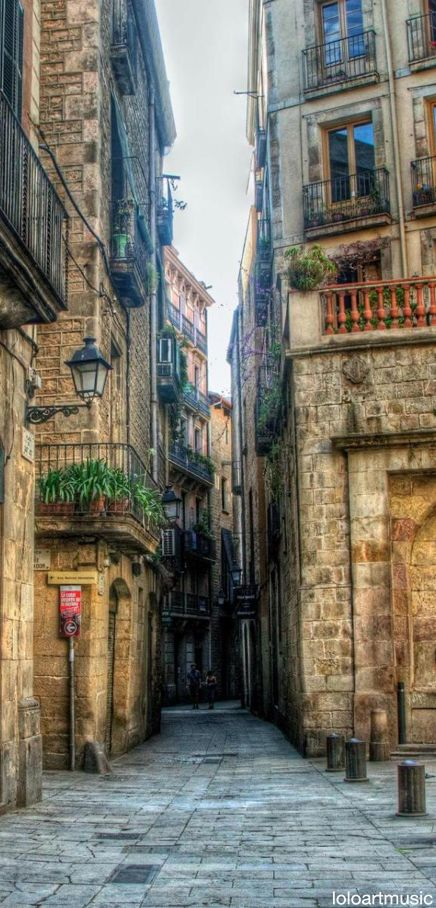 Gothic Quarter ~ Barcelona, Spain