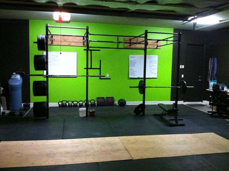 Need to build this home gym crossfit pinterest