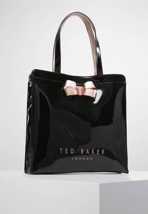 8e3e861dce3 VALLCON BOW DETAIL LARGE ICON BAG - Shopping Bag - black | Zalando ...