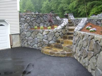 28 best Vertical Decorative Concrete - Stone and Rock Walls images ...