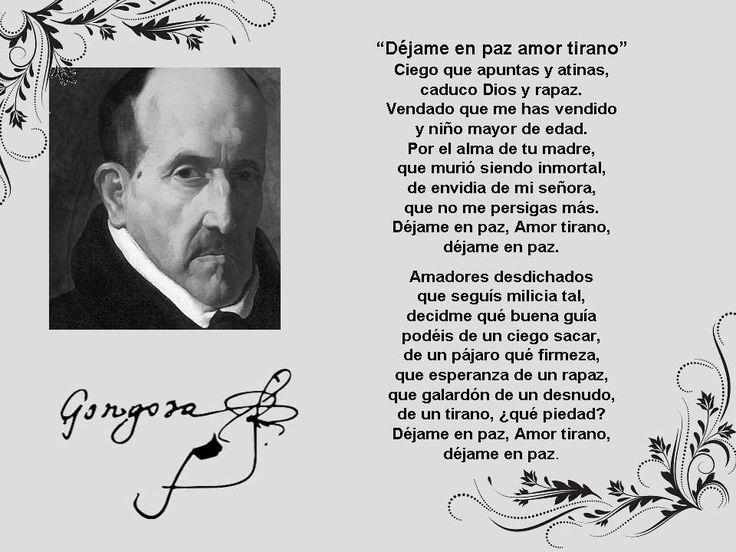Luis de Góngora y Argote Nació en Córdoba, el  11 de Julio de 1561. Poeta y dramaturgo del Siglo de Oro español, y máximo exponente de la corriente literaria conocida y perpetuada a lo largo de siglos, como culteranismo o gongorismo. Murió en su ciudad natal, el 23 de mayo de 1627.