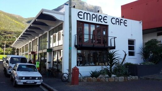 Empire Cafe in Muizenberg, Cape Town....great coffee! Lovely croissants.....do not miss this little gem hidden away in York Street!