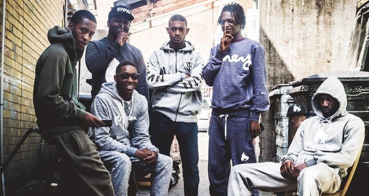 Don't Panic Album. The popular UK rap collective, Section Boyz. Deepee, Inch, Knine, Sleeks, Swift and Littlez. 6 rappers who are swiftly taking over the UK music scene.