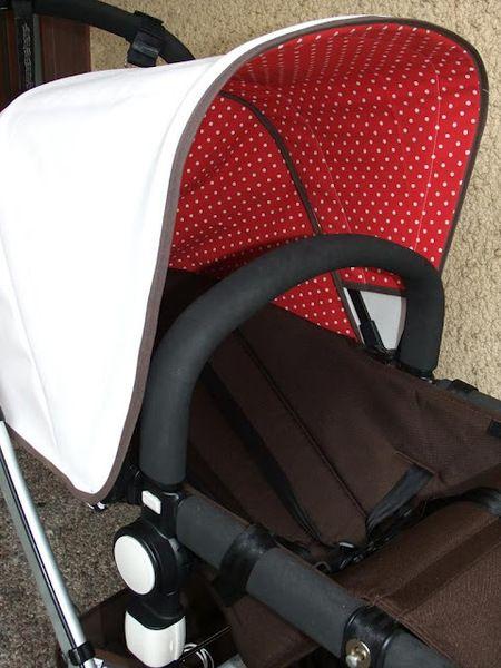 ♥ Unikat Dach für deinen Kinderwagen♥ von Cameleonstyle - Pimp my Bugaboo auf DaWanda.com