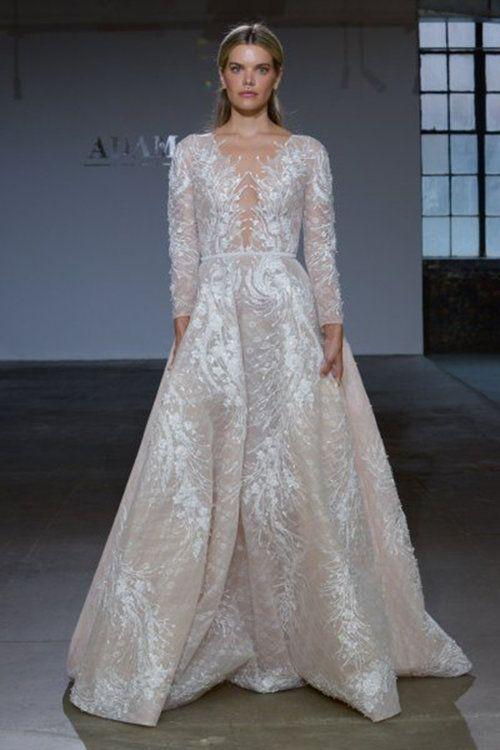 adam zohar. credits_ new york bridal week | suknie ślubne z długim