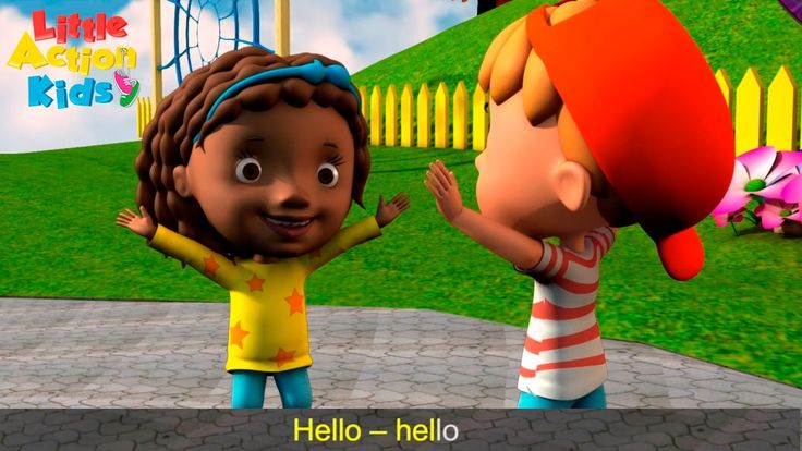 Hello Song for Kids    Children Love to Sing Songs for Kids