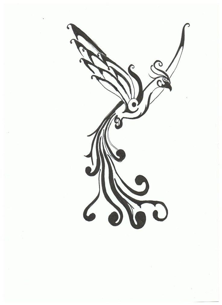 Phoenix Tattoo Draft One By Shockerloba On Deviantart Design 900x1238 Pixel