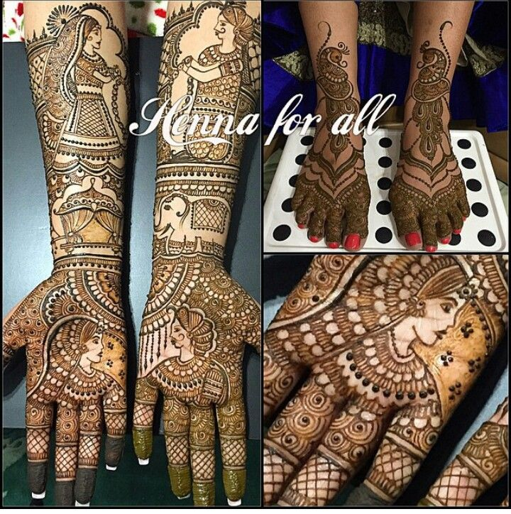 Bridal Henna fr all nyc