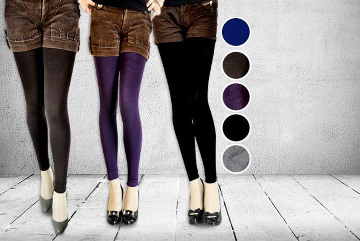 2 x Fleece-Lined Leggings