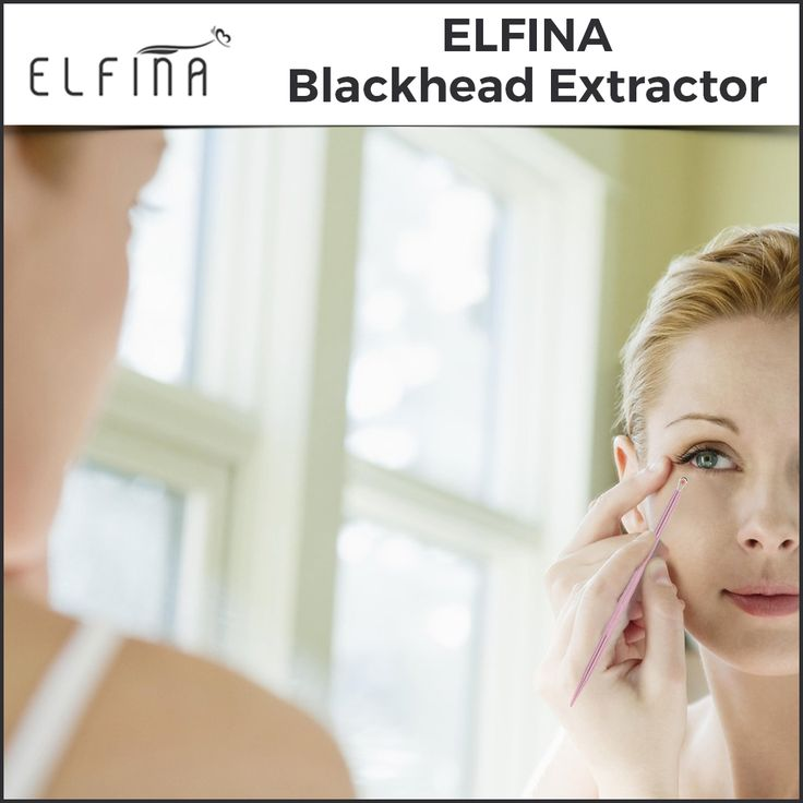Elfina's Blackhead Pimple Extractor having anti-slip handle design allows you better control the pressures! Order now! If not satisfy 100%  money back! http://amzn.to/2xZCvAQ