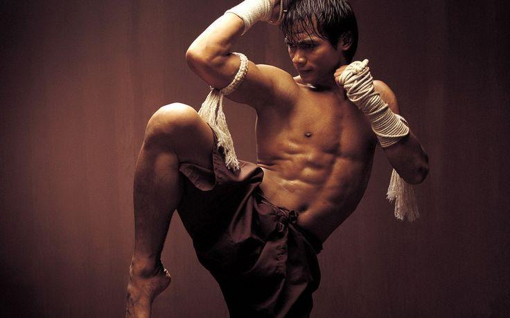Muay Thai Kickboxing - martial arts