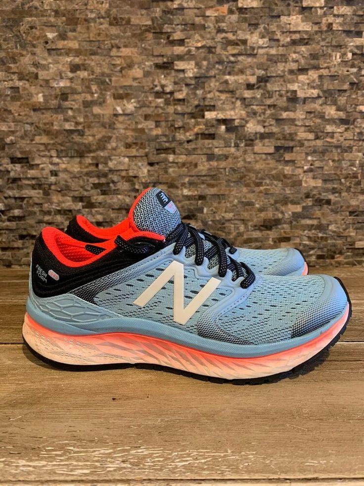 New balance fresh foam 1080 light blue running shoes