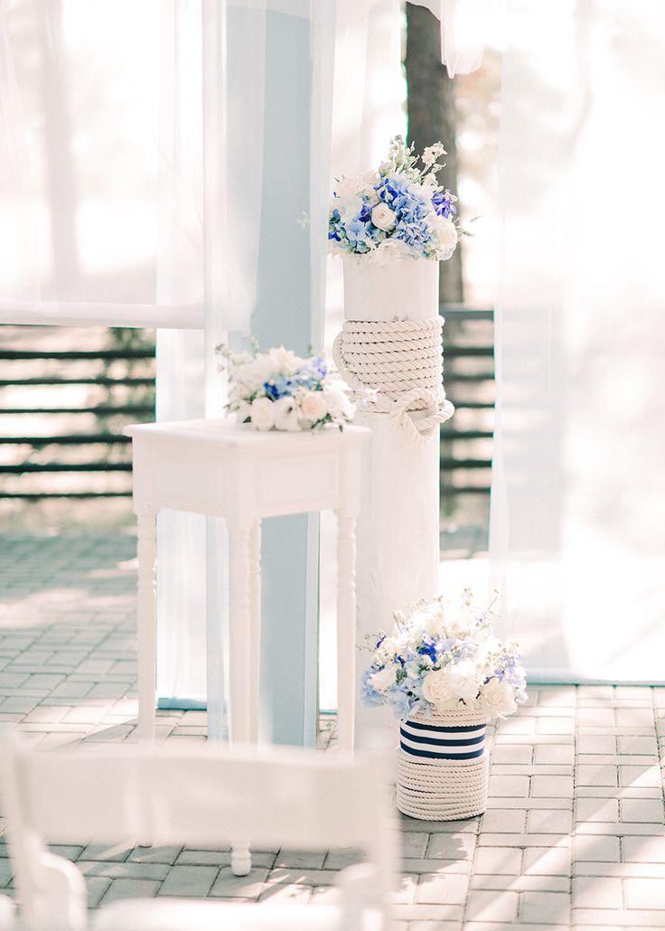 Свадьба в морском стиле | Статьи о свадьбе | www.wedcake.ru - свадьба в Санкт-Петербурге