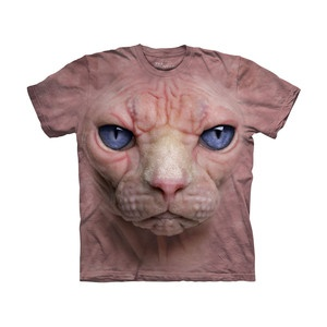 Ahhh    Hairless Pussycat T-Shirt, £15.20, now featured on Fab.