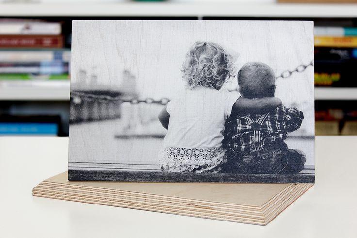 24 x 16 cm wood print