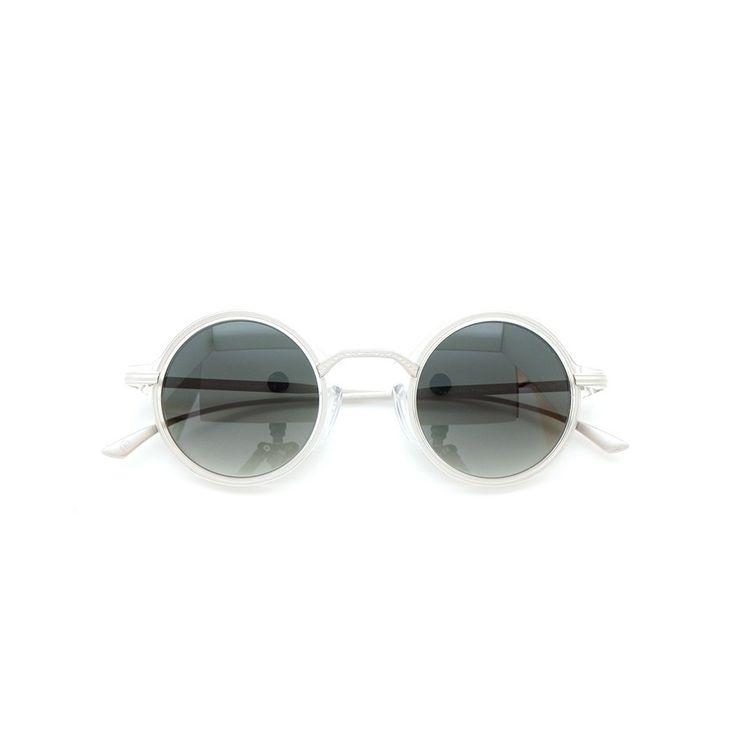 MASUNAGA designed by Kenzo Takada |Sunglasses| Mokko #30 CRYSTAL 43size 100-Limited-edition | PonMegane #kenzotakada #sunglass #masunaga #ponmegane