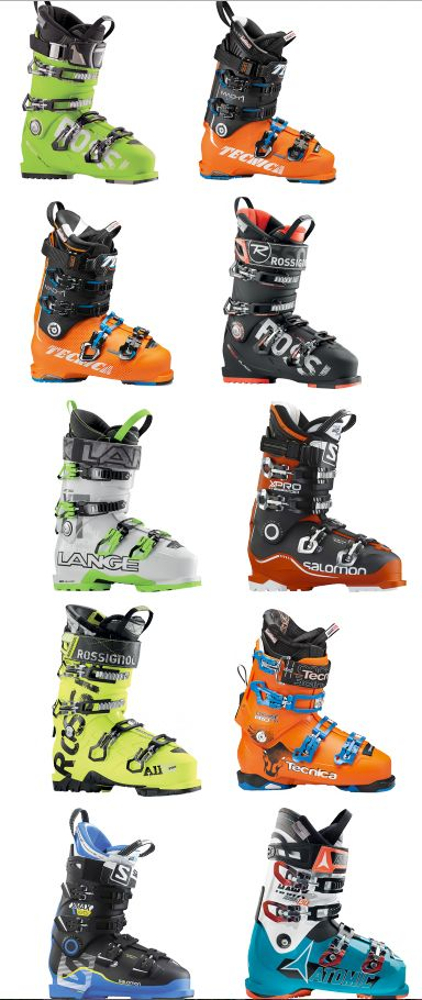 Men, start your ski boot search here. It's a comprehensive list of 2016's best ski boots.