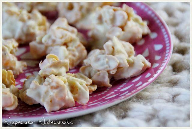 Was machen mit übrig gebliebener Schokolade (Ostern & Weihnachten)? --> Schoko-Crossies mit Mandeln und getrockneten Aprikosen