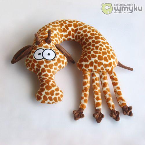 giraffe neck pillow ... cute
