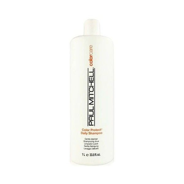 Paul Mitchell Color Protect Daily Shampoo, 33.8-oz. ($21) ❤ liked on Polyvore featuring beauty products, haircare, hair shampoo, no color, paul mitchell and paul mitchell hair care