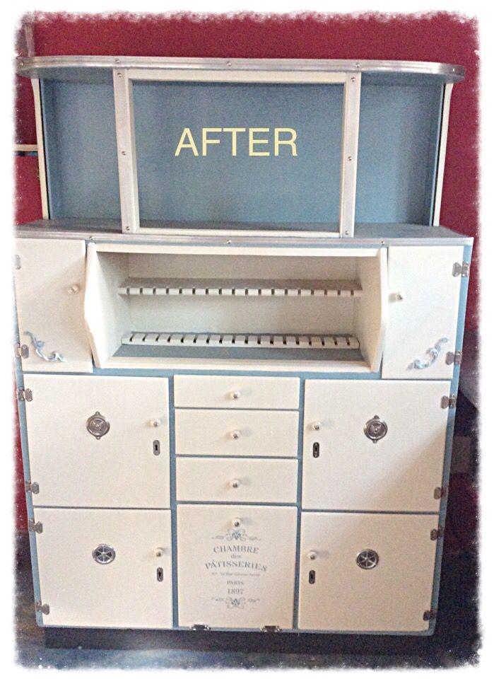 Old Kitchen cabinet makeover