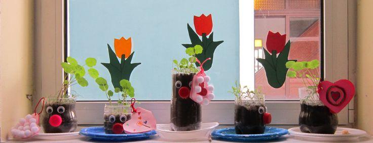 κλόουν  για τη γιορτή της μητέρας-Μειονοτικό Σχολείο Λυκείου-Δ΄,Ε΄ Τάξη  2016-'17
