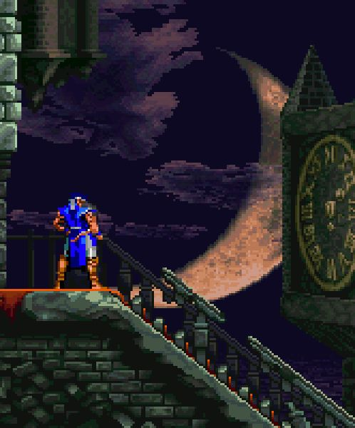 Castlevania: Symphony of the Night System: PS1, Sega Saturn, PS3, PSP, PS Vita, Xbox 360 Release: 1997 Developer: Konami Info: Wikipedia / MobyGames Video: Gameplay Video  Image Source: vgjunk.tumblr.com   Castlevania SOTN also appears on The Big List of 150+ Platformers for the PS1