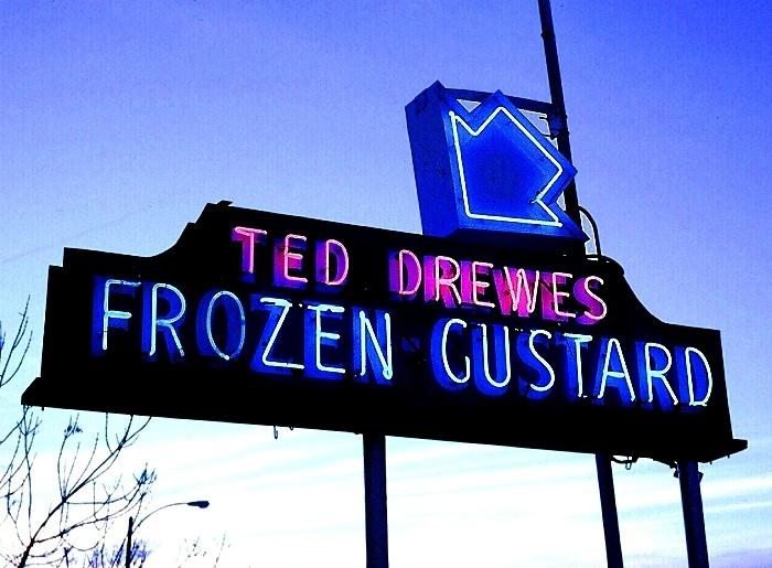 OMG frozen Custard. St. Louis Landmark!