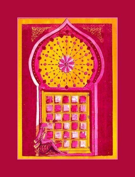 Tableau reproduction Maroc motif 1