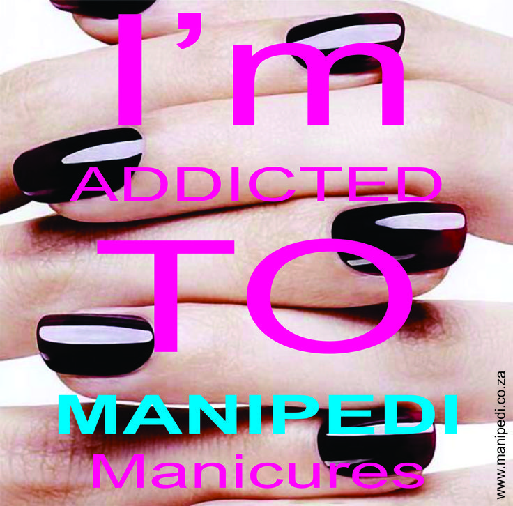 I'm addicted to ManiPedi Manicures. Just love the way they look and last The in-store service is always amazing too ;-) Yes I know I am biased, but its true!!