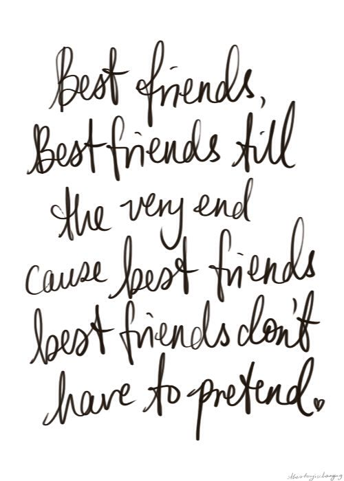 This is cheesy, but true. I love you two and I hope you're both having a wonderful day!