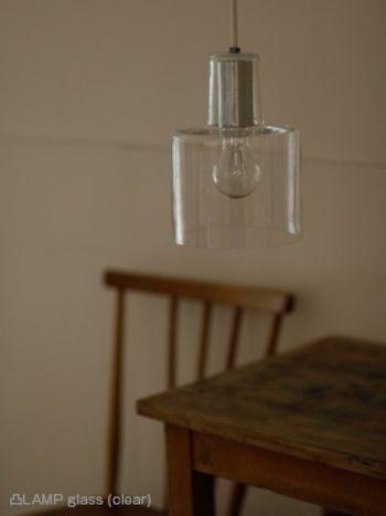 凸LAMP glass17,000yen + tax 60watt(max)×1/E26ランプ別 φ160 h220 1.0㎏ glass/clear,white cord/1.5m・white 引掛シーリング - 適合ランプ (clear) クリア球60w×1/E26 LEDランプ LDA形60w形相当×1/E26 推奨:LDA4L-H/D/5/C250-V2 (フェニックス電機) (white) シリカ球60w×1/E26 電球型蛍光灯EFA15×1/E26 LEDランプ LDA形60w形相当×1/E26 推奨:光が広がるタイプ