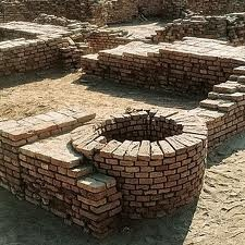 More ruins at Mohenjo Daro, Pakistan. A city 4,500 years old with running water and sewer.
