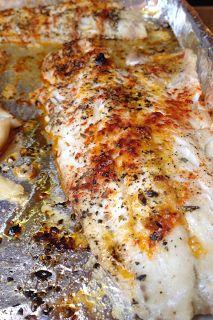 Feeding Ger Sasser: Broiled Pollock