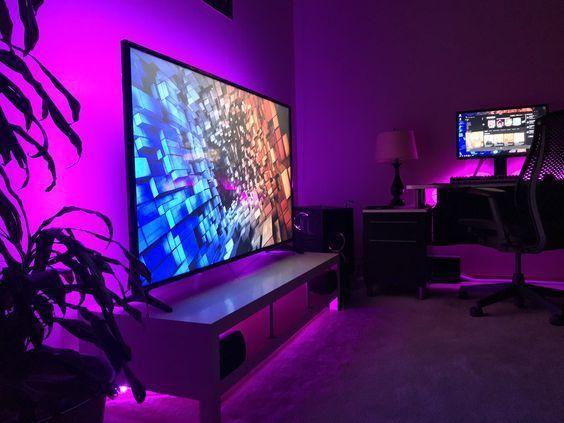 13 Best Epic Video Game Room Decoration Ideas Comfort And Cool Decoratio Co Video Game Rooms Game Room Design Game Room Decor