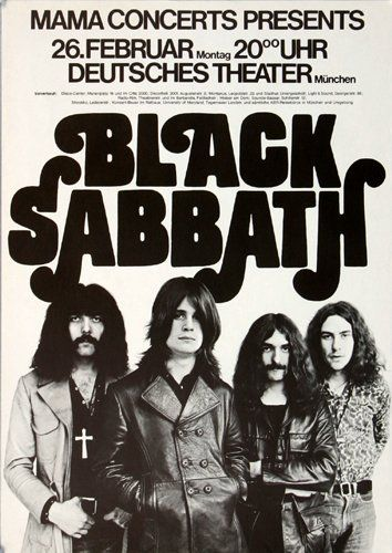 """Black Sabbath"" is a song by Black Sabbath, written in 1969 and released on the bands debut album."