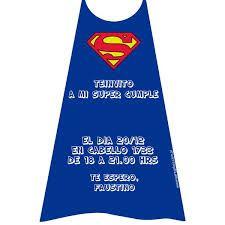 Resultado de imagen para superman cumpleaños