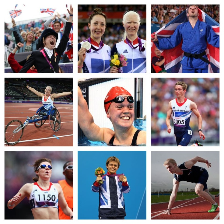 Paralympics selection