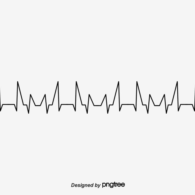 Black Ecg Line Heartbeat Clipart Heartbeat Heartbeat Line Png Transparent Clipart Image And Psd File For Free Download Heartbeat Line In A Heartbeat Clip Art