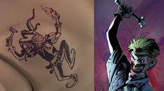 Descifrados los 16 tatuajes del Joker de Jared Leto