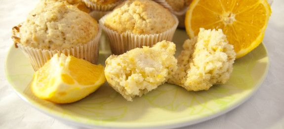 leckere Orangenmuffins.