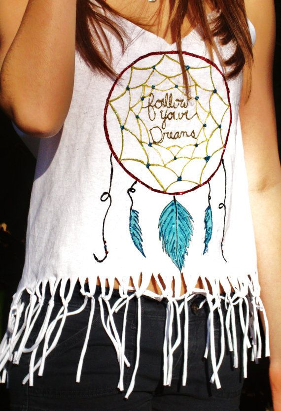 Handmade Dream Catcher Tank With Frindge