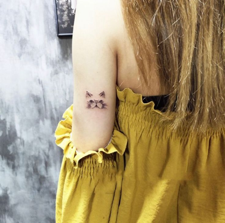Getting small tattoos has become quite popular for girls – Page 7 of 48