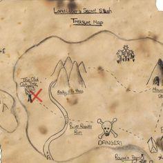Como fazer um mapa do tesouro para crianças - 9 passos