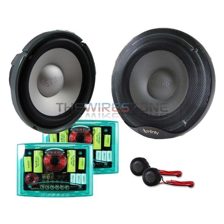 "Infinity Kappa Perfect 6.1 6.5"" 400 Watt Component Car Audio Speaker (pair) 400W #Infinity"