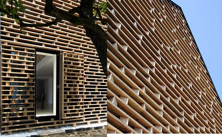 House M Daylit Japanese Home Preserves Privacy With A