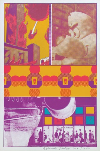 Eduardo Paolozzi - Erni and TT at St Louis Airport - 1967